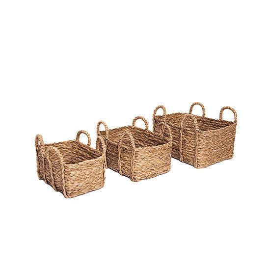 Baum Set Of 3 Rush 3-pc. Basket