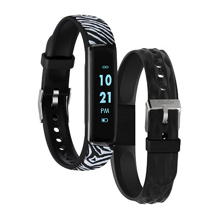 Itouch Slim Womens Multi-Function Black Smart Watch-Itl7491b08d-F02, One Size