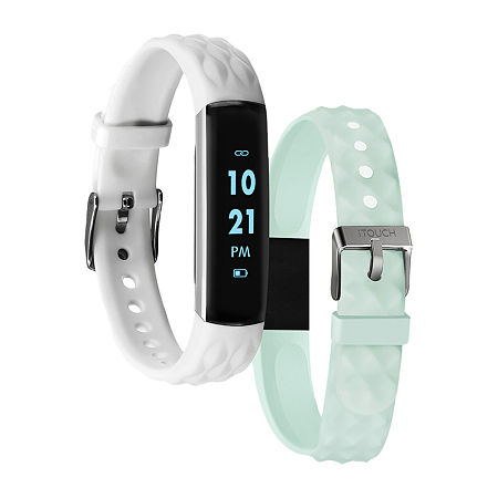 Itouch Slim Womens Multi-Function White Smart Watch-7593s-51-H26, One Size