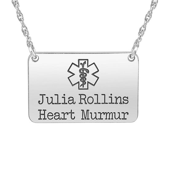 New Unisex Adult Personalized Gold Pendant Necklace