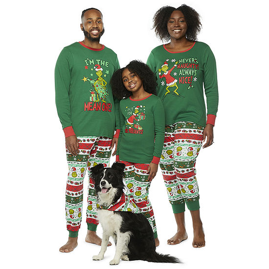 Dr. Seuss Grinch Matching Family Pajamas