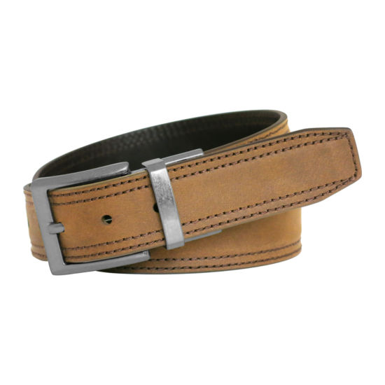 Realtree™ Reversible Double-Stitch Leather Casual Belt
