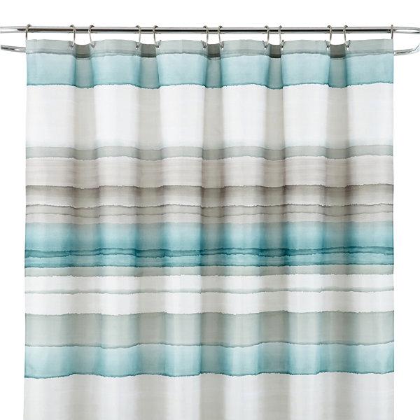 Studio™ Watercolor Stripe Shower Curtain - JCPenney