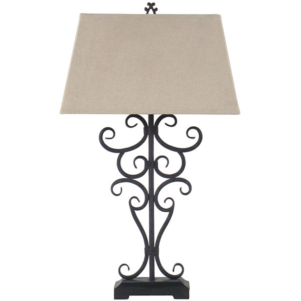 Jcpenney home iron scrollwork table lamp jcpenney jcpenney home iron scrollwork table lamp aloadofball Gallery