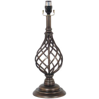 Jcpenney Home Spindle Cage Table Lamp Base Antique Brass Jcpenney