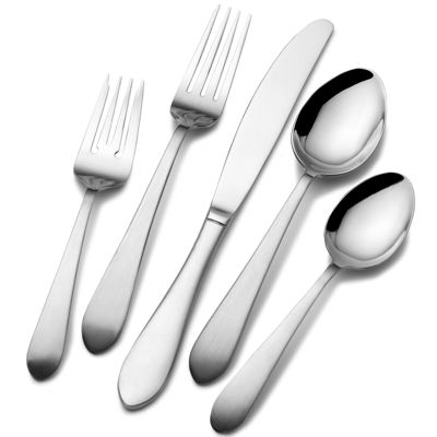 Pfaltzgraff® Everyday Salisbury Satin 20-pc. Flatware Set