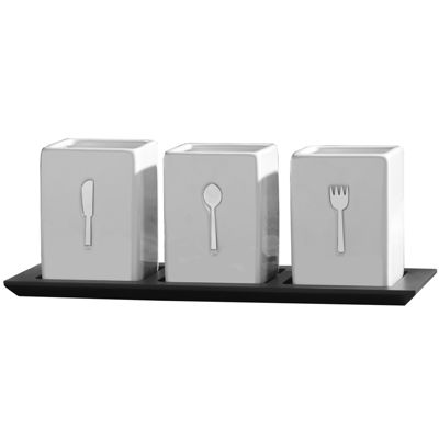 Towle® Living 4-pc. Flatware Caddy Set