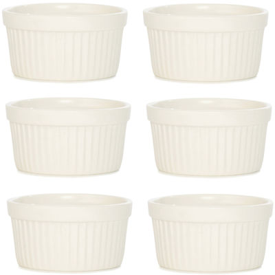 BergHOFF® Bianco Set of 6 Porcelain Ramekins