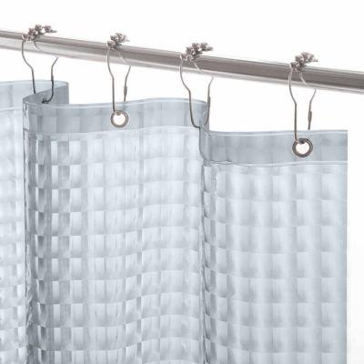 Kenney Medium Weight Embossed PEVA Shower Curtain Liner