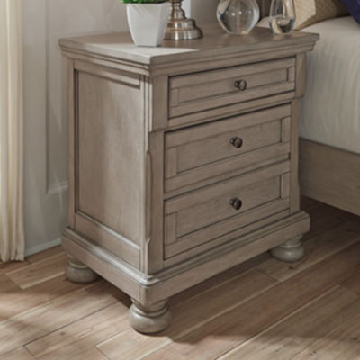 Signature Design by Ashley® Lettner 3-Drawer Night Stand
