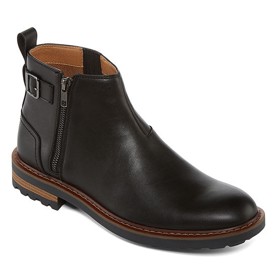Collection by Michael Strahan  Mens Alfie Chelsea Boots Zip