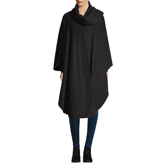 Liz Claiborne Self Tie Ruana Cold Weather Wrap