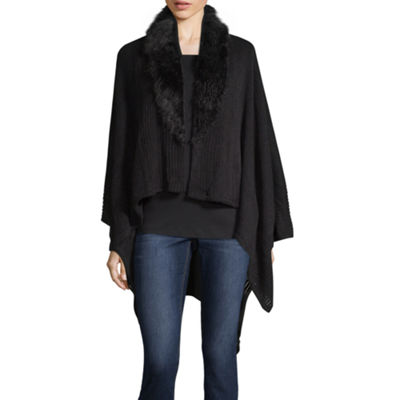 Liz Claiborne Faux Fur Collar Wrap