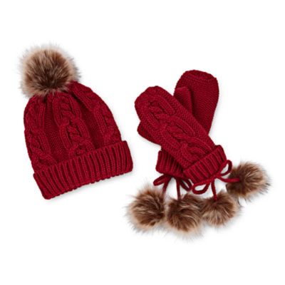 Mixit Hat And Mitten 2-pc. Knit Cold Weather Set