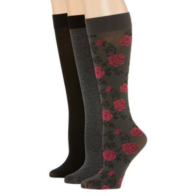 Mixit 3 Pair Trouser Socks - Womens