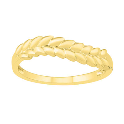 Womens 4.5mm 10K Gold Band