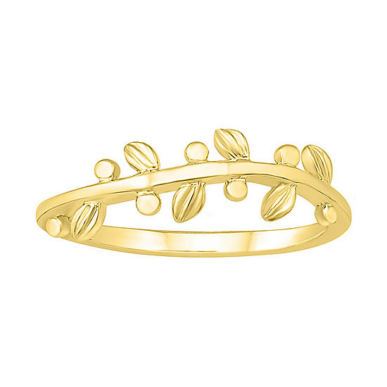 Womens 5.5mm 10K Gold Band