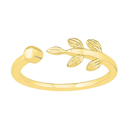 6.5MM 10K Gold Round Band