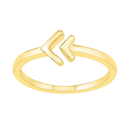 Womens 7mm 10K Gold Round Band