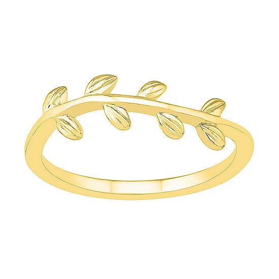 5.5MM 10K Gold Round Band