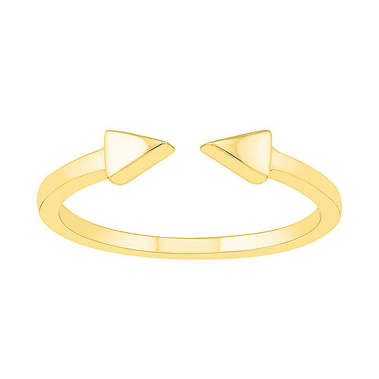 Womens 3.5mm 10K Gold Round Band