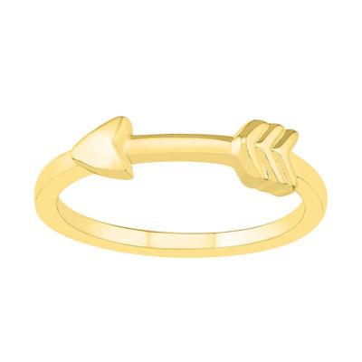 Womens 4.5mm 10K Gold Round Band