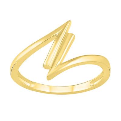 Womens 13.5mm 10K Gold Round Band