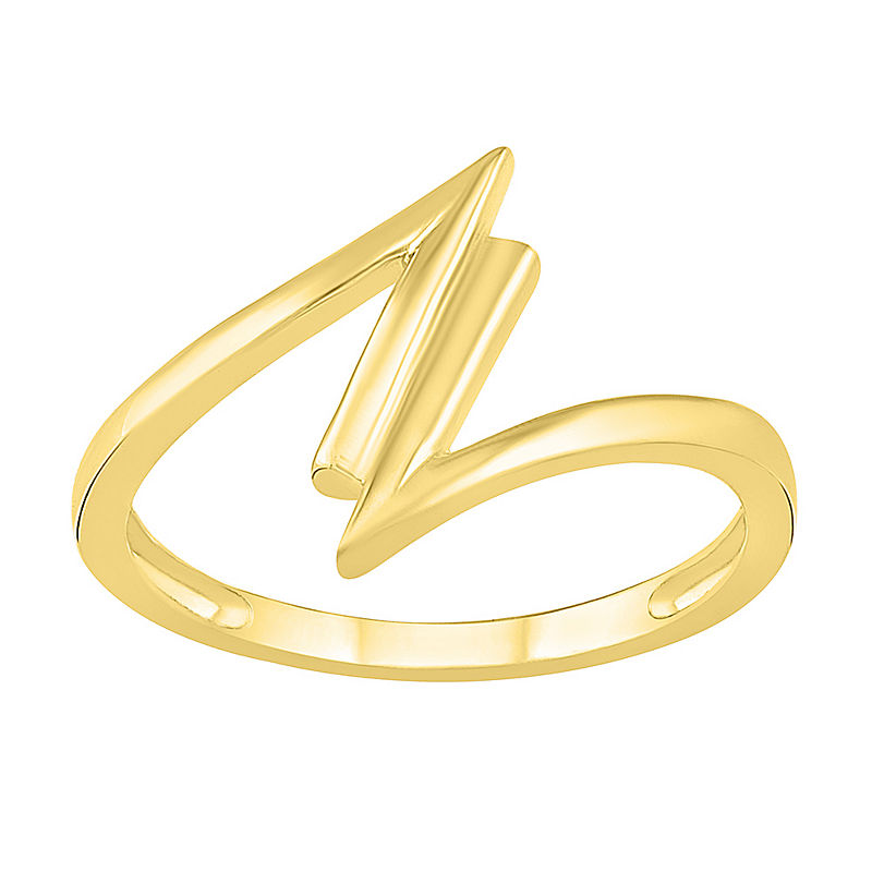 image of Womens 13.5mm 10K Gold Round Band-ppr5007797626