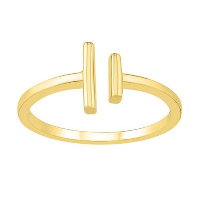 Womens 8.5mm 10K Gold Round Band