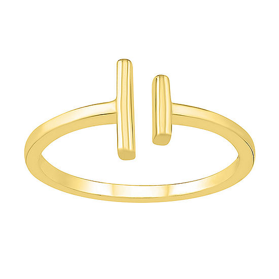 Womens 8.5mm 10K Gold Round Band