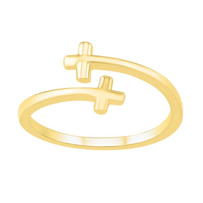 Womens 9.5mm 10K Gold Round Band