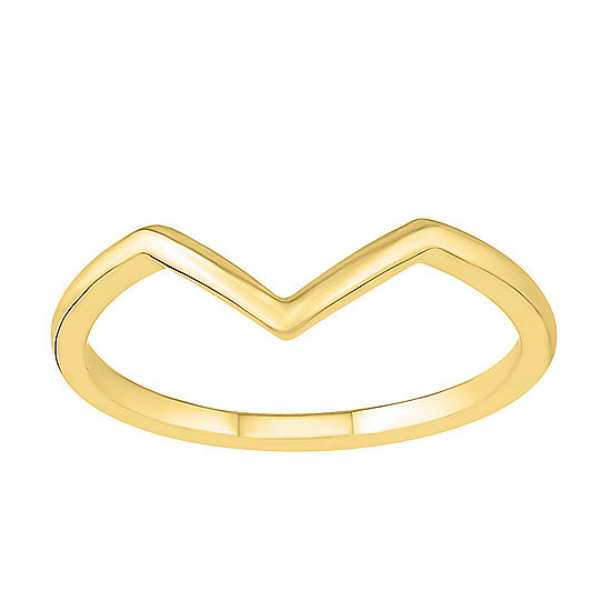 Womens 2mm 10K Gold Round Band