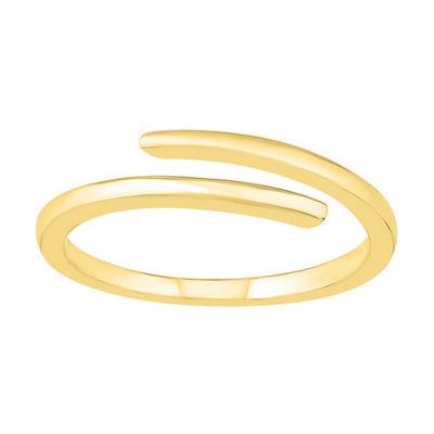 Womens 4mm 10K Gold Round Band