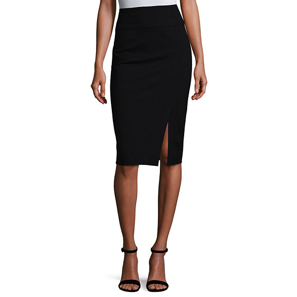 Worthington Ponte Knit Pencil Skirt