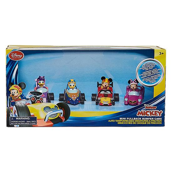 Disney Jr. 4-pc. Mickey Mouse Mini Pullback Cars