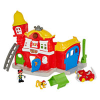 Deals on Disney Mickey Mouse Firehouse with Mickey & Pluto