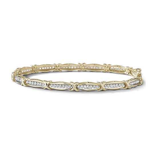 1 CT. T.W. Genuine Diamond Tennis Bracelet