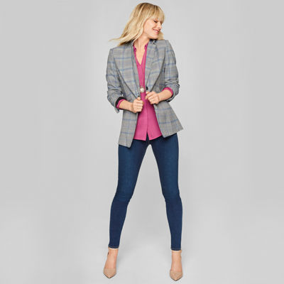 Style for Days: The Blazer, Blouse and Skinny Jeans