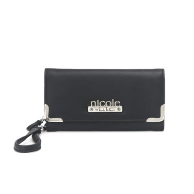 Nicole By Nicole Miller Francesca Zip Around Wallet