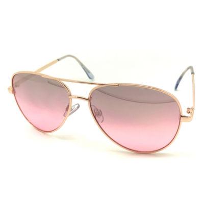Fantas Eyes Womens Full Frame Aviator UV Protection Sunglasses