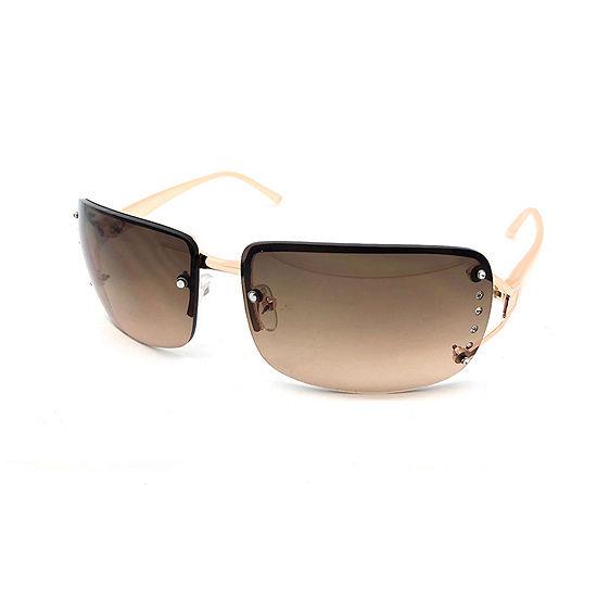 Fantas Eyes Womens Rimless Rectangular UV Protection Sunglasses