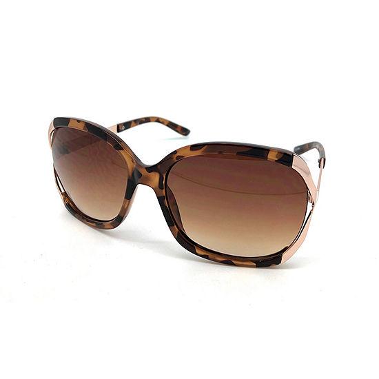 Fantas Eyes Womens Full Frame Round UV Protection Sunglasses