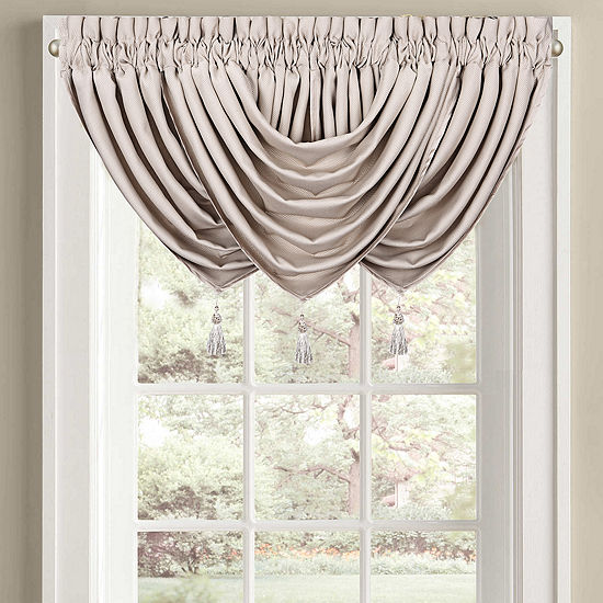 Queen Street Morocco Pointed Waterfall Valance