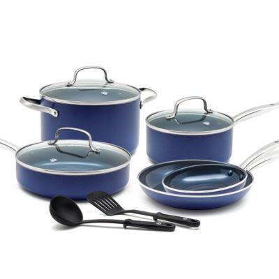 As Seen on TV Blue Diamond 10-Pc. Cookware Set