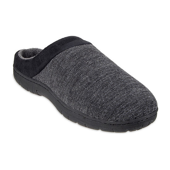 Stafford® Textured Jersey Clog Slippers
