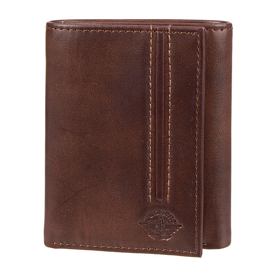 Dockers® RFID Trifold Wallet with Zipper Pocket