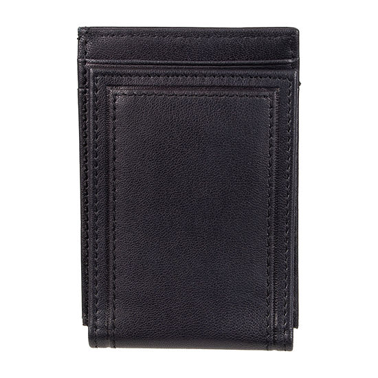 Stafford® RFID Front Pocket Wallet with Magnetic Money Clip