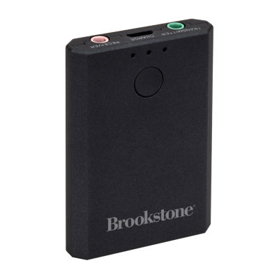 Brookstone Bluetooth Audio Adapter Transmitter + Receiver