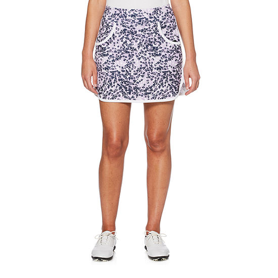 PGA TOUR Womens Mid Rise Moisture Wicking Skort