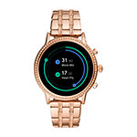 Fossil Smartwatches Gen 5 Julianna Hr Womens Rose Goldtone Stainless Steel Smart Watch-Ftw6035